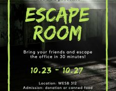 BIOSOC presents: Escape Room