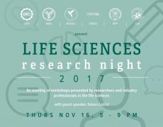 Life Sciences Research Night 2017
