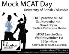 Mock MCAT Day