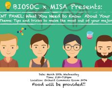BIOSOC x MISA Student Panel: Know Your Major