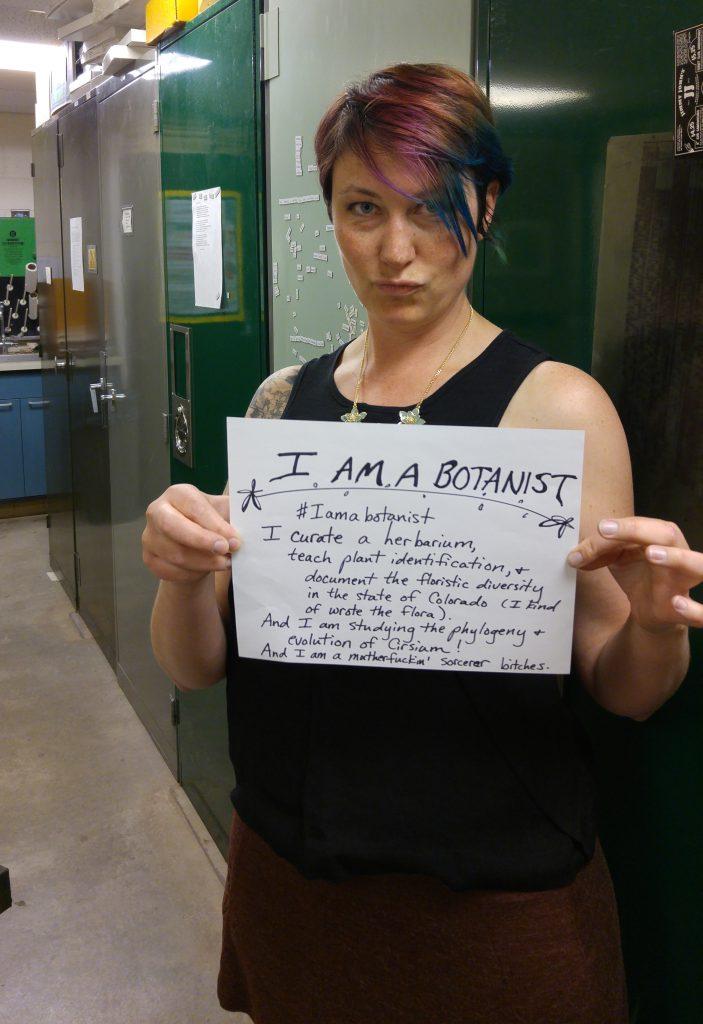#IAmABotanist. Image via J. Ackerfield.